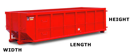 A 10-yard dumpster, 4 ft. high x 8 ft. wide x 12 ft. long, is one of the smallest dumpsters for rent. It holds 10 cubic yards of waste. This dumpster size is perfect for tighter spaces and smaller trash loads. A 10-yard dumpster is a good size dumpster for a 1 car garage or small basement cleanout.